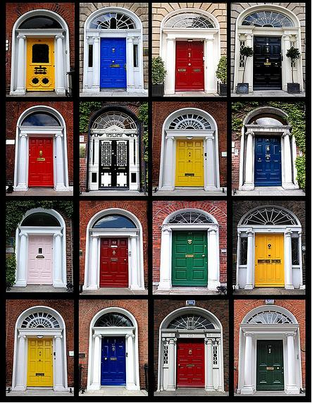Just A Few Of The 76 Doors That Miss Filetti Dashed Through The Streets Of Dublin To Snap Pictures Of. & Doors Ireland u0026 The Doors Of Ireland Revisited
