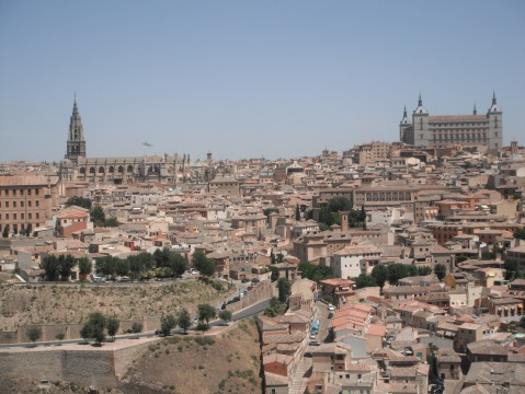 Brittany's View of Toledo.