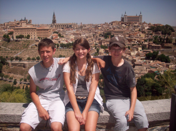 Minooka kids enjoyed a View of Toledo.