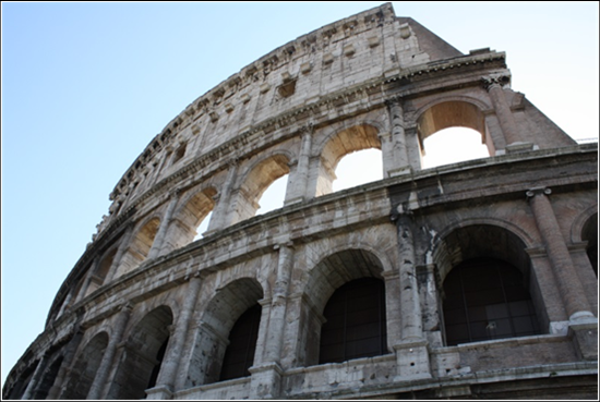We're going to go ahead and say that Mrs. Harig is a pretty darn good photographer.  The Colosseum is a pretty good subject to photograph, though.