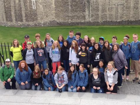 The TAP gang hanging out in front of the Tower of London.