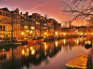The Canals of Amsterdam.  This will be one of our first stops in 2016.  Are you going to be on the boat with us?