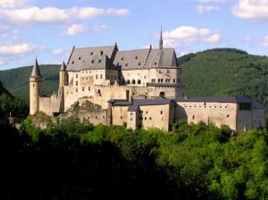 A castle in Luxembourg.  If you want to explore this place, be sure to have your application done by the deadline.