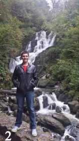Eric at the Torc Waterfall in Ireland.