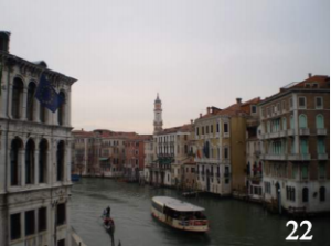 The Grand Canal in Venice, Italy, where we took our gondola ride.