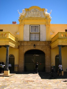 Yazmine says the Castle of Good Hope (second oldest building in South Africa) is a Cape Dutch design.  What do you think?