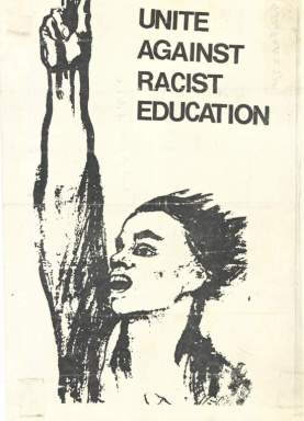 The Bantu Education Act of 1953 was not very popular.  You saw the tail end of this in Sarafina!