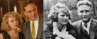 Allison Pill & Tom Hiddleston and Zelda & Scott Fitzgerald