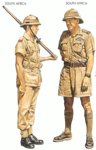 South African soldiers in WWII had all the other Allied forces jealous of their short pants.